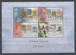 Singapore - 2004 150 Years Of Stamps In Singapore Block MNH__(TH-6918) - Singapore (1959-...)