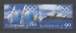 Slovenia - 2000 Sydney Pair MNH__(TH-18257) - Slowenien