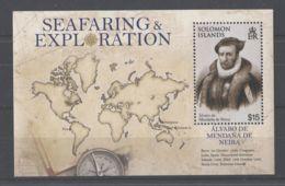 Solomon Islands - 2009 History Of Seafaring Block MNH__(TH-11537) - Isole Salomone (1978-...)