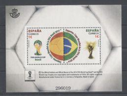 Spain - 2014 World Cup Block MNH__(TH-6675) - Blocchi & Foglietti