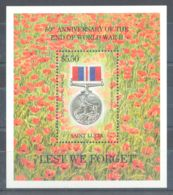 St.Lucia - 1995 World War II Block MNH__(TH-8134) - St.Lucia (1979-...)