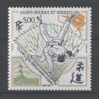 St.Pierre & Miquelon - 1989 St. Pierre Judo Club Celebrates MNH__(TH-19199) - St.Pierre & Miquelon