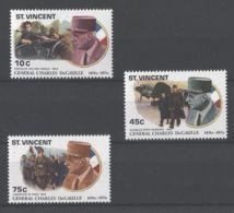 St.Vincent - 1991 Charles De Gaulle MNH__(TH-16846) - St.Vincent (1979-...)
