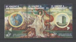 St.Vincent - 1995 United Nations Strip MNH__(TH-16822) - St.Vincent (1979-...)