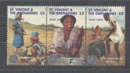 St.Vincent - 1995 World Food Organization Strip MNH__(TH-9268) - St.Vincent (1979-...)
