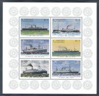 St.Vincent - 1996 Passenger Ships Kleinbogen (1) MNH__(THB-1628) - St.Vincent (1979-...)