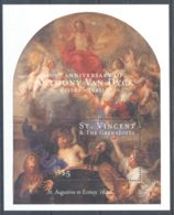 St.Vincent - 2000 Anthony Van Dyck Block (3) MNH__(TH-3455) - St.Vincent (1979-...)