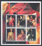 St.Vincent - 2000 Anthony Van Dyck Kleinbogen (1) MNH__(THB-789) - St.Vincent (1979-...)