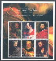 St.Vincent - 2000 Anthony Van Dyck Kleinbogen (3) MNH__(THB-862) - St.Vincent (1979-...)