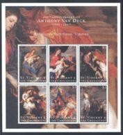 St.Vincent - 2000 Anthony Van Dyck Kleinbogen (4) MNH__(THB-924) - St.Vincent (1979-...)