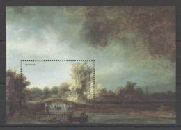 St.Vincent - 2001 Rijksmuseum Block (2) MNH__(TH-18340) - St.Vincent (1979-...)