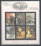 St.Vincent - 2001 Rijksmuseum Kleinbogen (2) MNH__(THB-1329) - St.Vincent (1979-...)