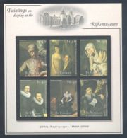 St.Vincent - 2001 Rijksmuseum Kleinbogen (3) MNH__(THB-1330) - St.Vincent (1979-...)