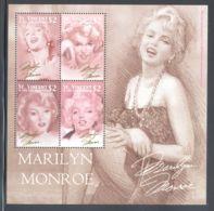 St.Vincent - 2004 Marilyn Monroe Kleinbogen (2) MNH__(THB-2101) - St.Vincent (1979-...)