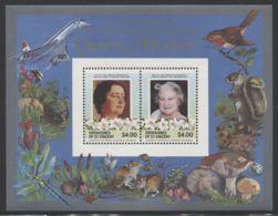 St.Vincent Grenadines - 1985 Queen Mother Block (2) MNH__(FIL-10093) - St.Vincent Und Die Grenadinen