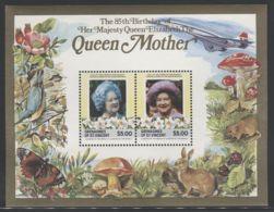 St.Vincent Grenadines - 1985 Queen Mother Block (3) MNH__(FIL-10098) - St.-Vincent En De Grenadines