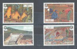 Swaziland - 2001 Environmental Protection MNH__(TH-8151) - Swaziland (1968-...)