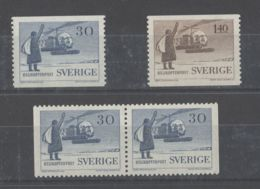 Sweden - 1958 10 Years Of Helicopter Mailing MNH__(TH-8378) - Nuevos