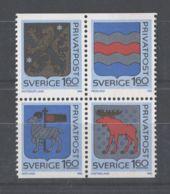 Sweden - 1983 Provincial Coat Of Arms MNH__(TH-9693) - Schweden