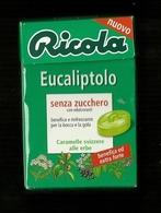 Scatola In Cartoncino - Ricola Eucaliptolo - Boxes