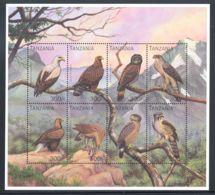 Tanzania - 1991 Birds Kleinbogen (2) MNH__(THB-510) - Tansania (1964-...)