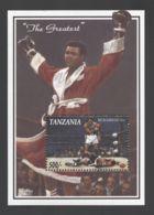 Tanzania - 1993 Athletes Block MNH__(TH-10712) - Tansania (1964-...)