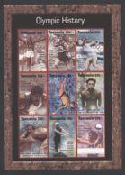 Tanzania - 1995 Olympic Champion Kleinbogen (1) MNH__(FIL-10364) - Tansania (1964-...)