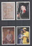 Tanzania - 1995 Queen Mother MNH__(TH-6238) - Tansania (1964-...)