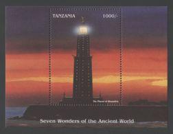 Tanzania - 1997 Wonder Of Architecture Block (2) MNH__(TH-7188) - Tansania (1964-...)