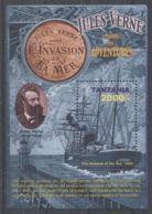 Tanzania - 2015 Jules Verne Block (1) MNH__(TH-3978) - Tansania (1964-...)