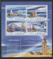 Togo - 2015 Lighthouses (I) Kleinbogen MNH__(FIL-7195) - Togo (1960-...)