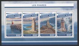Togo - 2016 Lighthouses Kleinbogen MNH__(TH-5973) - Togo (1960-...)