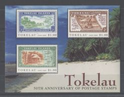 Tokelau - 1998 50 Years Of Tokelau Stamps Block MNH__(TH-10075) - Tokelau
