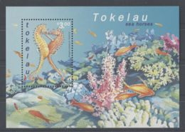 Tokelau - 2001 Seahorse Block MNH__(TH-250) - Tokelau