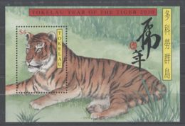 Tokelau - 2010 Year Of The Tiger Block MNH__(TH-8212) - Tokelau