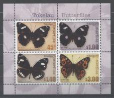 Tokelau - 2013 Butterflies Block MNH__(TH-7768) - Tokelau