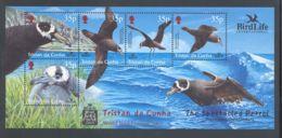 Tristan Da Cunha - 2001 BirdLife International Block MNH__(THB-1527) - Tristan Da Cunha
