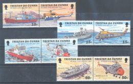 Tristan Da Cunha - 2001 Victims Of The Cyclone Pairs MNH__(TH-7155) - Tristan Da Cunha
