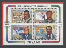 Tuvalu - 1998 Independence Block MNH__(TH-18259) - Tuvalu