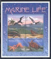 Tuvalu - 2000 Marine And Coastal Animals Kleinbogen (3) MNH__(THB-977) - Tuvalu