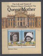 Tuvalu Funafuti - 1985 Queen Mother Block (1) MNH__(TH-2694) - Tuvalu