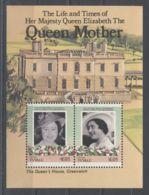 Tuvalu Niutao - 1985 Queen Mother Block (1) MNH__(TH-5184) - Tuvalu