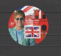 Gibraltar 2004 Michel Block 63 Sir Elton John 300th Concert S/s MNH - Gibraltar