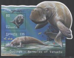 Vanuatu - 2002 Dugong Block MNH__(THB-1405) - Vanuatu (1980-...)