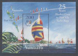 Vanuatu - 2004 25 Years Sailing Regatta Block MNH__(TH-1931) - Vanuatu (1980-...)