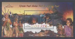 Vanuatu - 2005 Vulkan Post Office Block MNH__(TH-1928) - Vanuatu (1980-...)