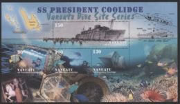 Vanuatu - 2006 SS President Coolidge Block MNH__(THB-3197) - Vanuatu (1980-...)