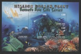 Vanuatu - 2007 Million Dollar Point Block MNH__(THB-610) - Vanuatu (1980-...)