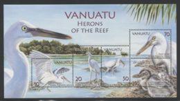 Vanuatu - 2007 Riffreiher Block MNH__(FIL-10229) - Vanuatu (1980-...)
