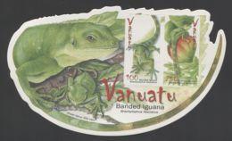Vanuatu - 2007 Short-crested Iguana Block MNH__(THB-1657) - Vanuatu (1980-...)